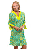 All For Color-Citrus Grove Prescot Lane Tunic Dress - FINAL SALE-Dresses