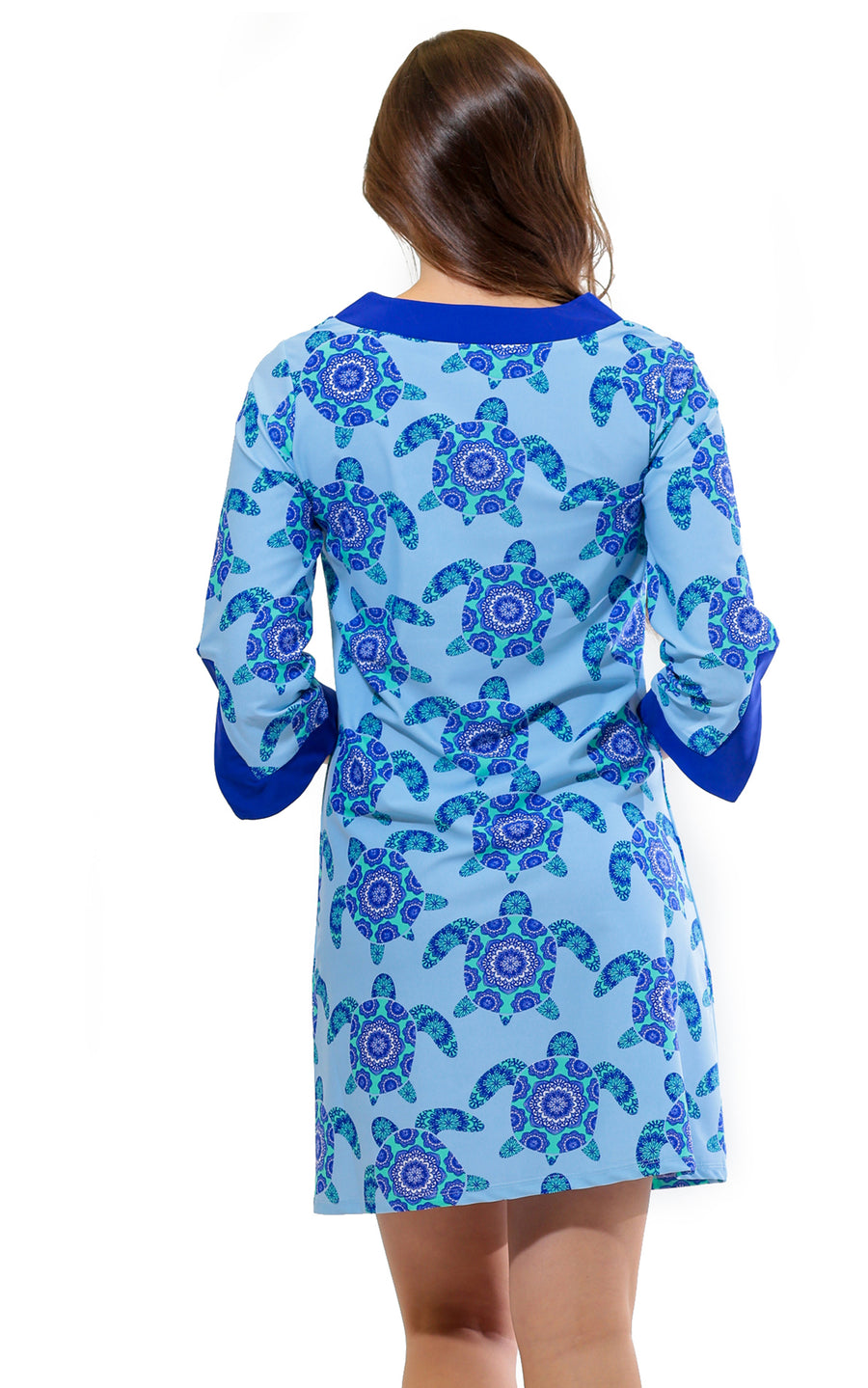 Mandala Turtle Prescot Lane Tunic Dress