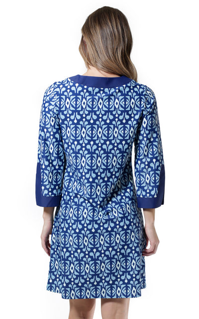 All For Color-Midnight Blue Prescot Lane Tunic Dress - FINAL SALE-Dresses