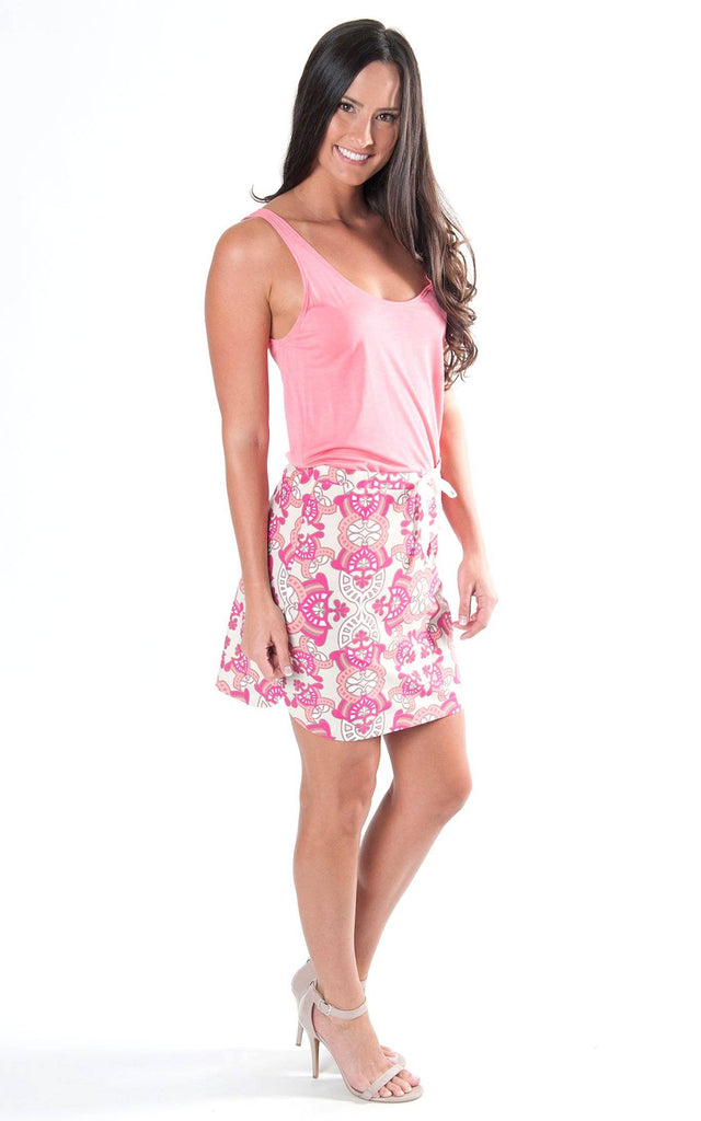 All For Color-Summer Terrace Taylor Blvd Skirt-Bottoms