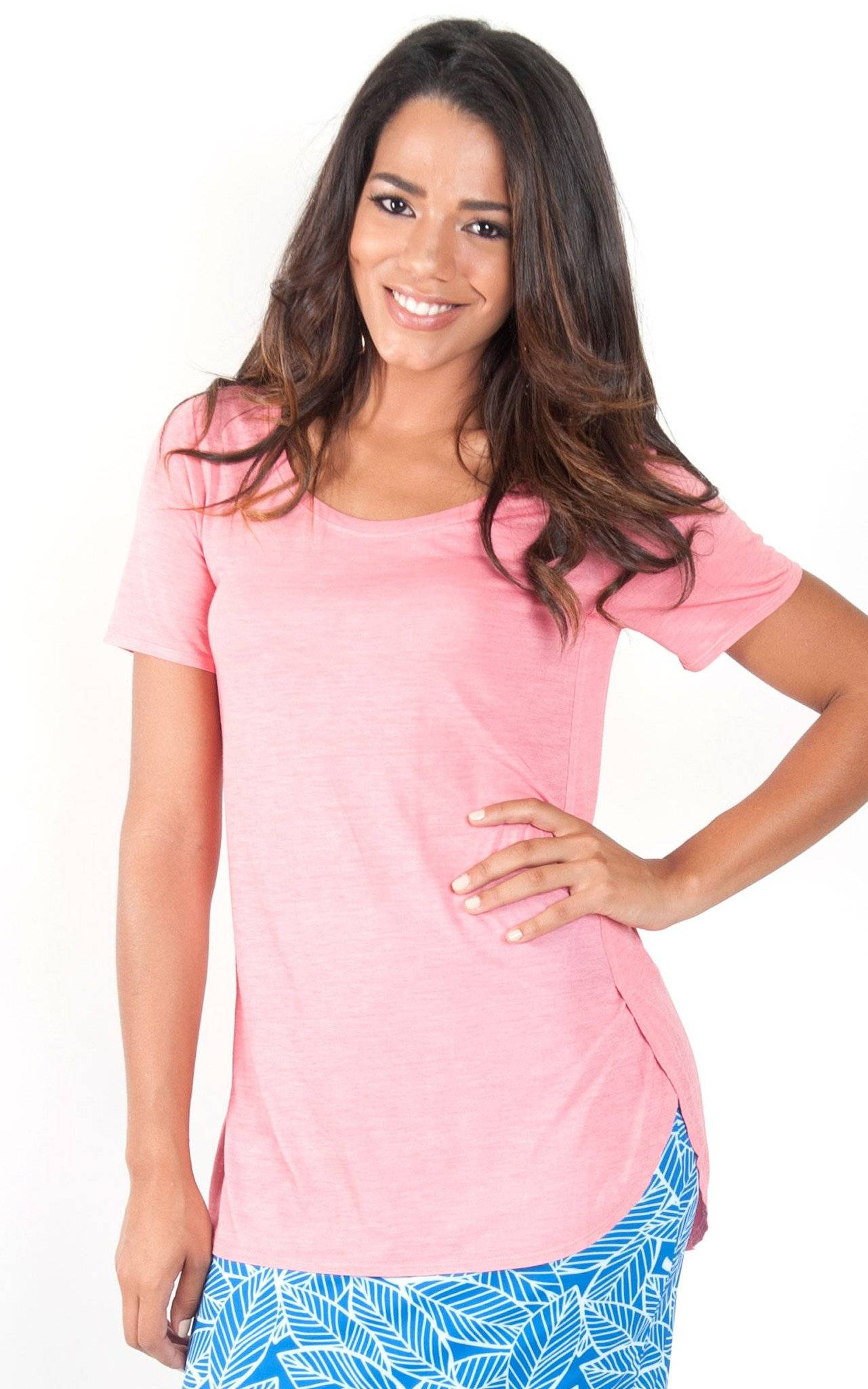 Coral Tunic T Shirt