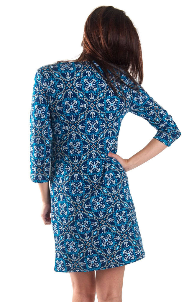 Artisan Tile Kate Pocket Shift Dress