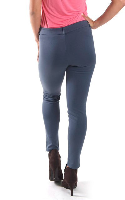 All For Color-Grey Jo Tailored Pant - FINAL SALE-Bottoms