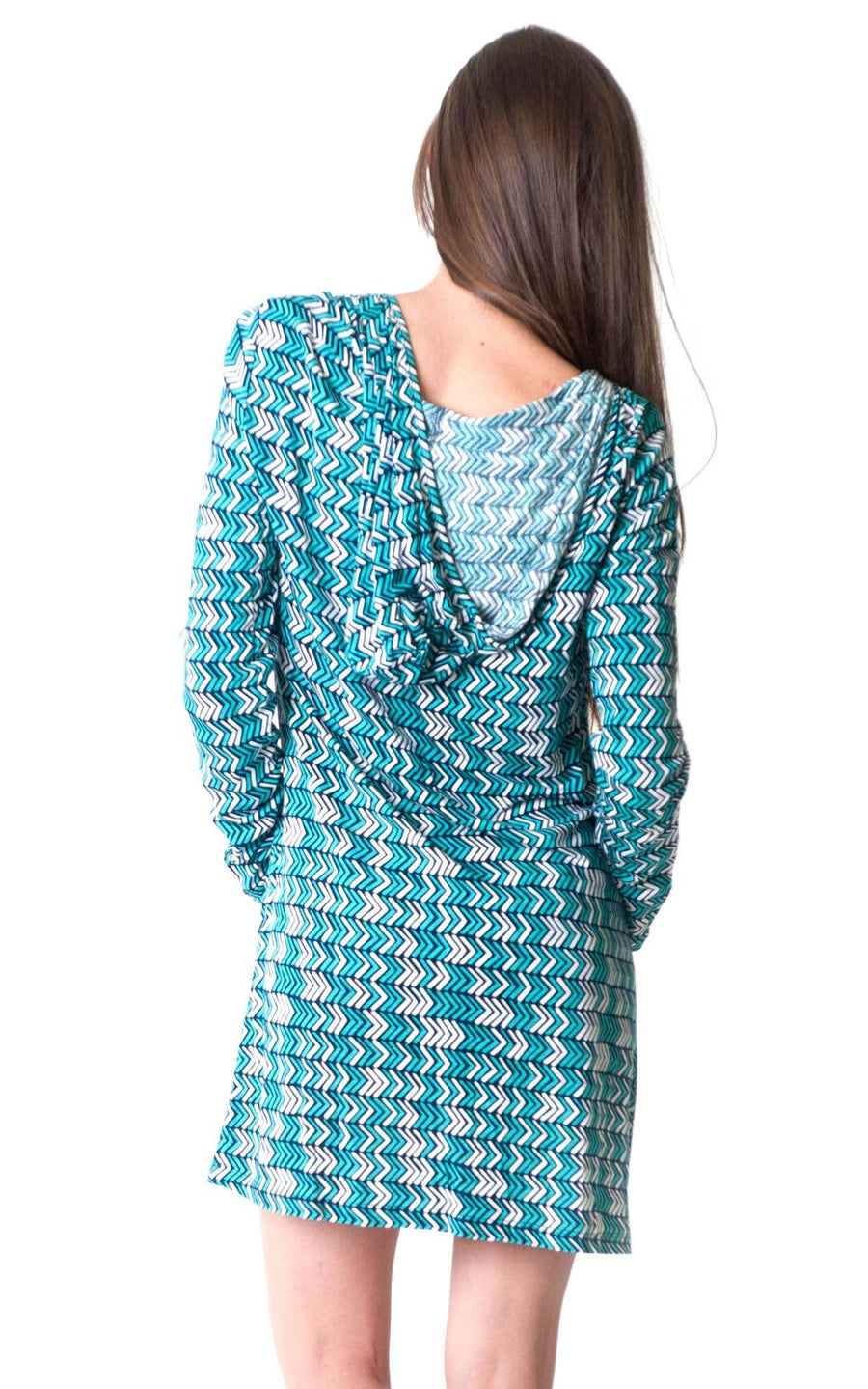 Vacay This Way Willa Hoodie Dress - FINAL SALE