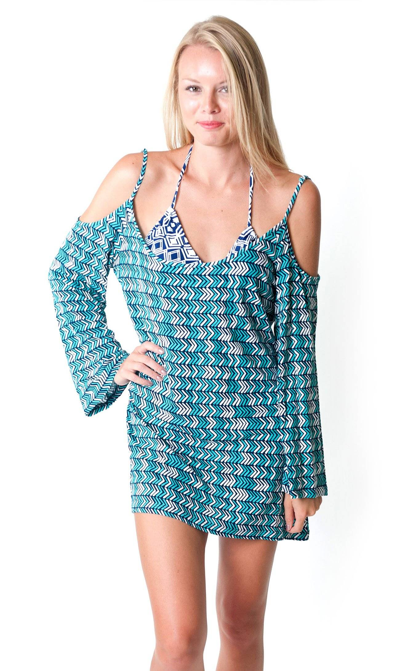 Vacay This Way Mila Off The Shoulder Dress