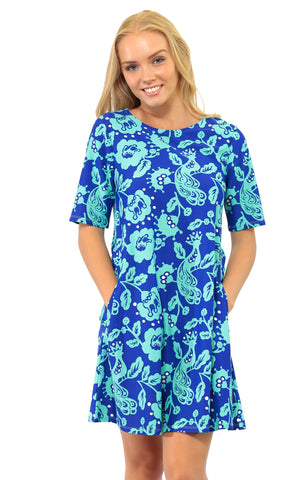 Birds of a Feather Bayshore Lane Swing Dress