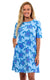 Mandala Turtle Bayshore Lane Swing Dress