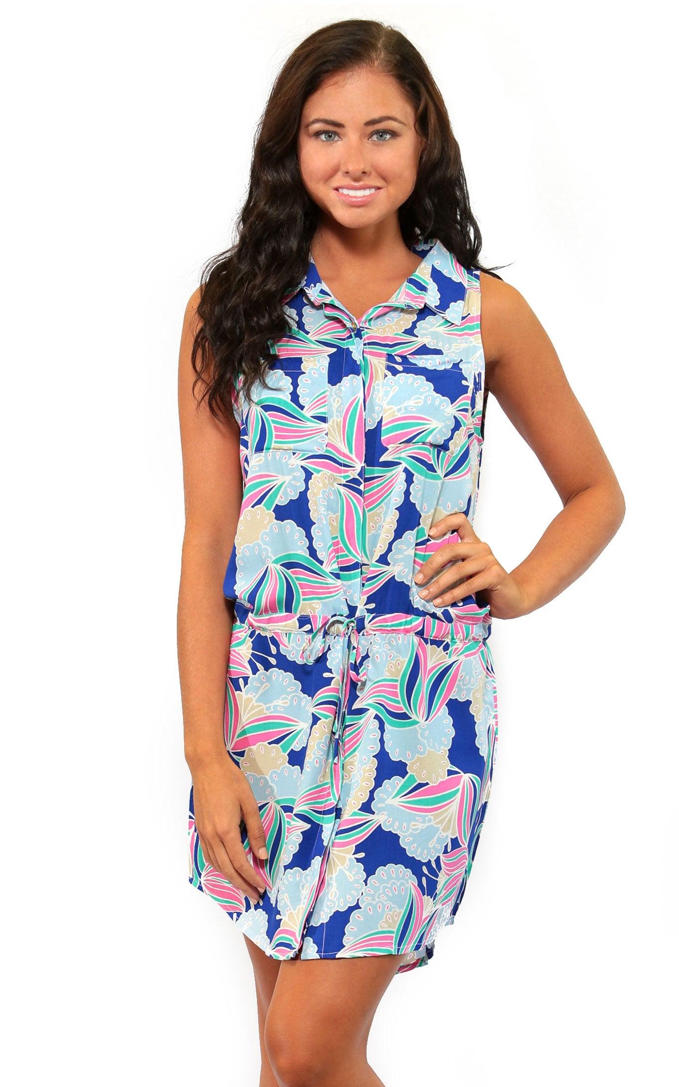 Water Lily Renee Button Front Dress