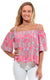 Tahiti Sweetie Cece Flounce Top - FINAL SALE