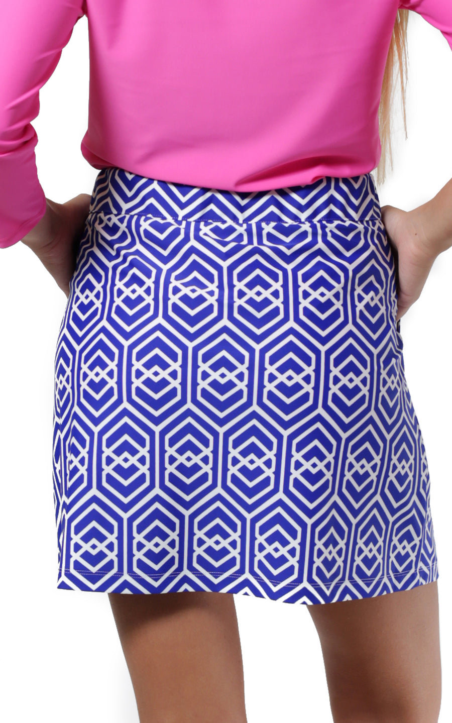 All For Color-Royal Knots Harbor Isle Skort - FINAL SALE-Bottoms