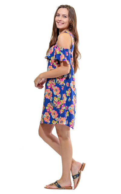 Wildflowers Fiona Ruffle Front Dress - FINAL SALE