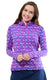 Island Hopping Pink Quarter Zip Sun Protective Top - FINAL SALE