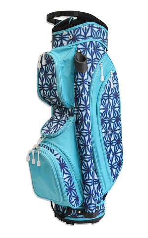 All For Color-Indigo Batik Golf Bag-GOLF BAG