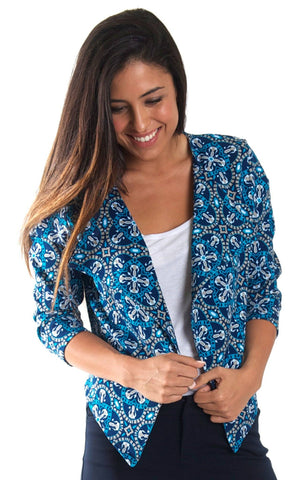 All For Color-Artisan Tile Beckham Blazer-Bottoms