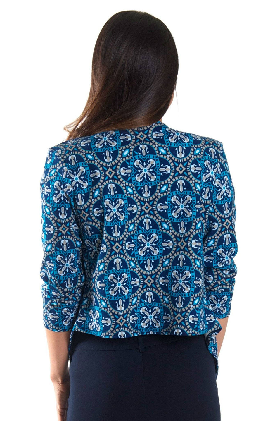 Artisan Tile Beckham Blazer - FINAL SALE