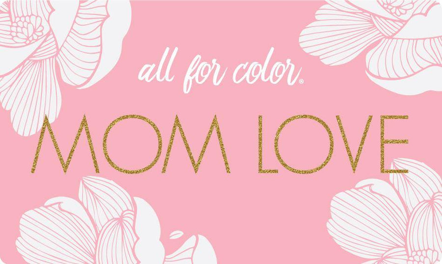 Gift cards all for color love mom all for color gift card negle Images