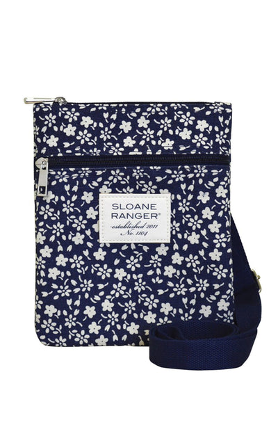 Sloane Ranger-navy floral crossbody. - FINAL SALE-SR Crossbody
