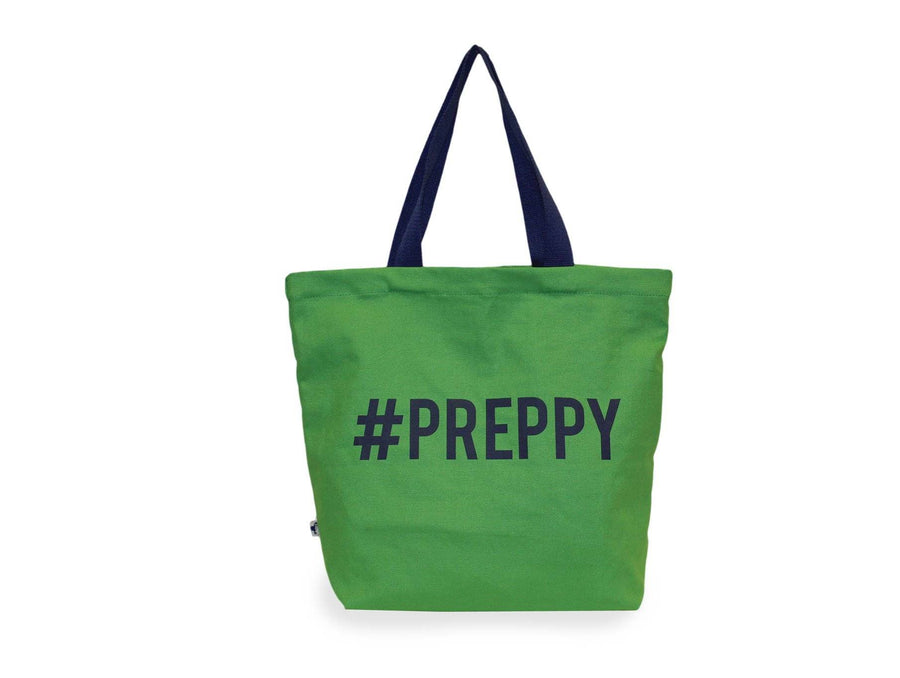 #preppy canvas tote bag.