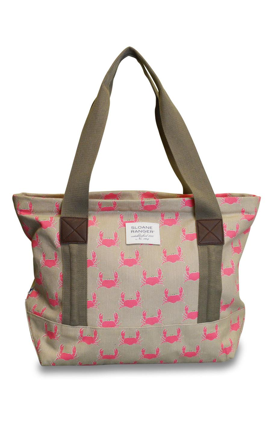 crab tote. - FINAL SALE