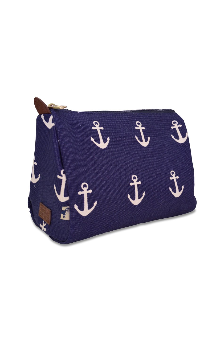 anchor cosmetic pouch. - FINAL SALE