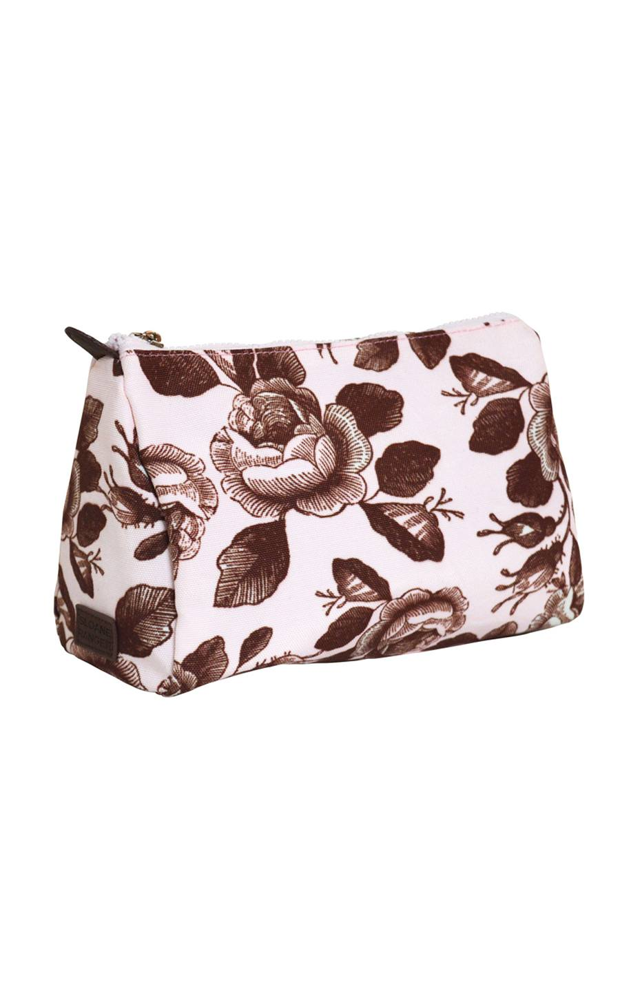tea time cosmetic pouch. - FINAL SALE
