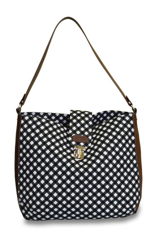 Sloane Ranger-gingham shoulder bag.-SR Shoulder Bag