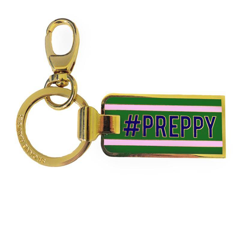 #preppy key chain. - FINAL SALE