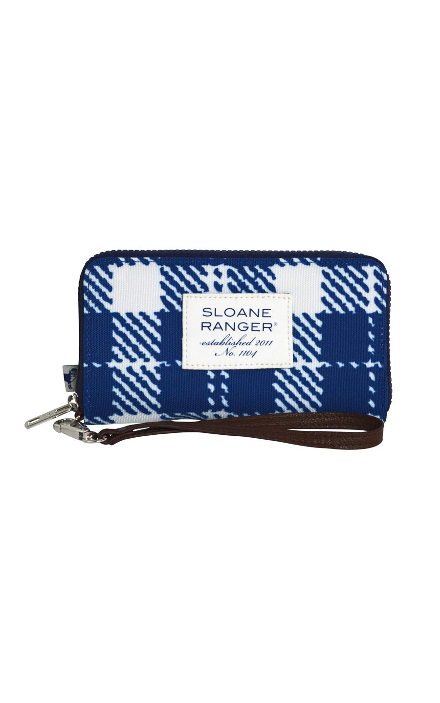 classic check smartphone wallet.