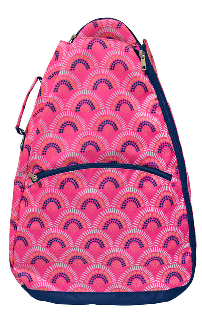 All For Color-Volley Girl Tennis Backpack - FINAL SALE-Tennis Backpack
