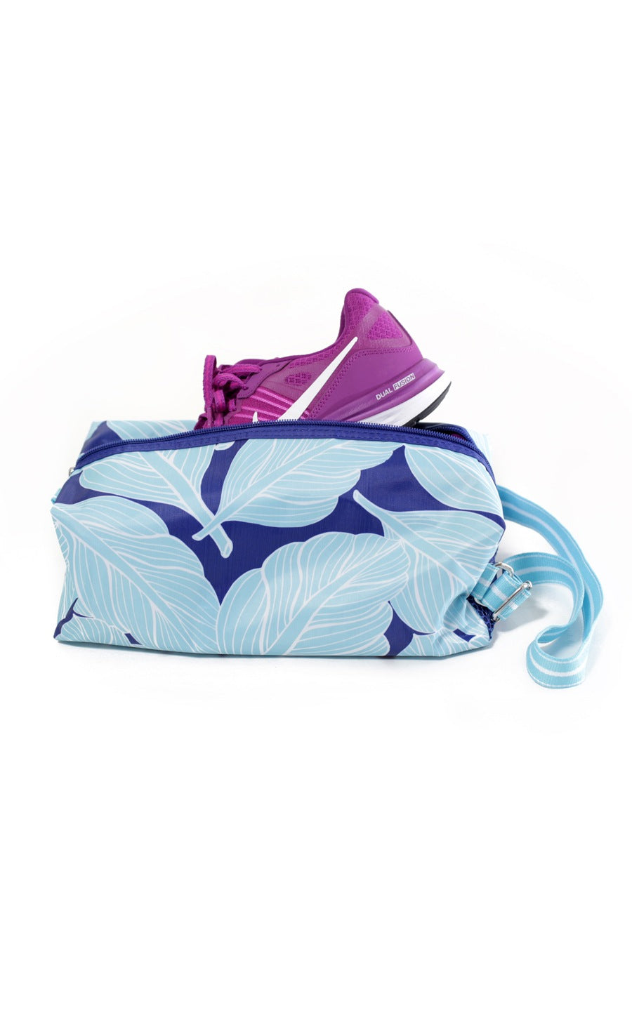 Palm Paradise Athletic Shoe Duffel