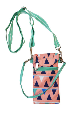 All For Color-Sand Castles Smartphone Crossbody Bag-Smartphone Crossbody Bag