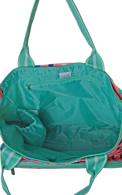 All For Color-Sand Castles Tennis Tote-Tennis Tote