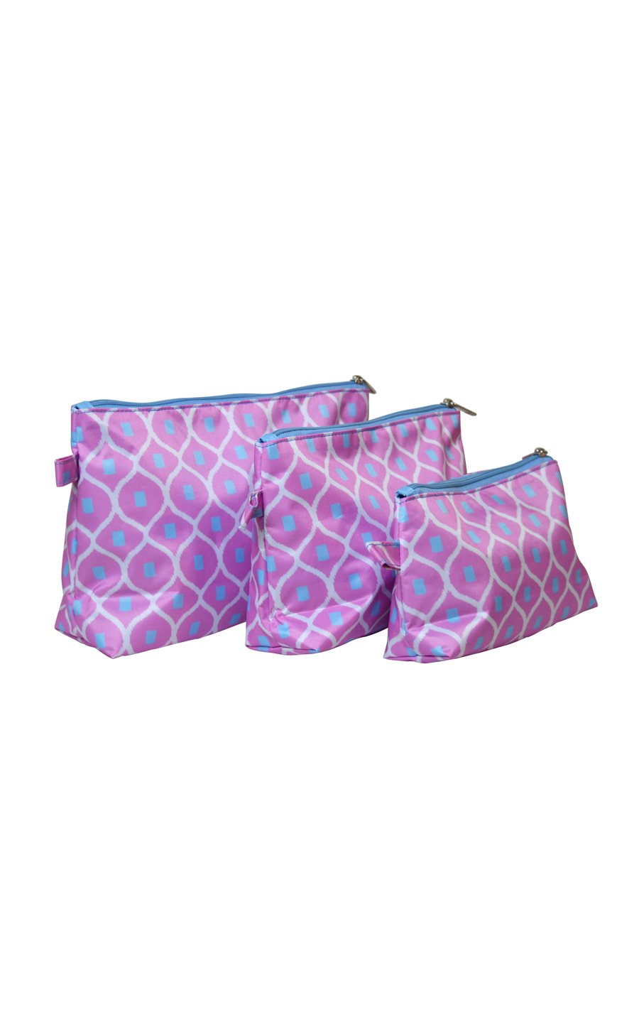 Good Catch 3 Piece Cosmetic Bag Set - FINAL SALE