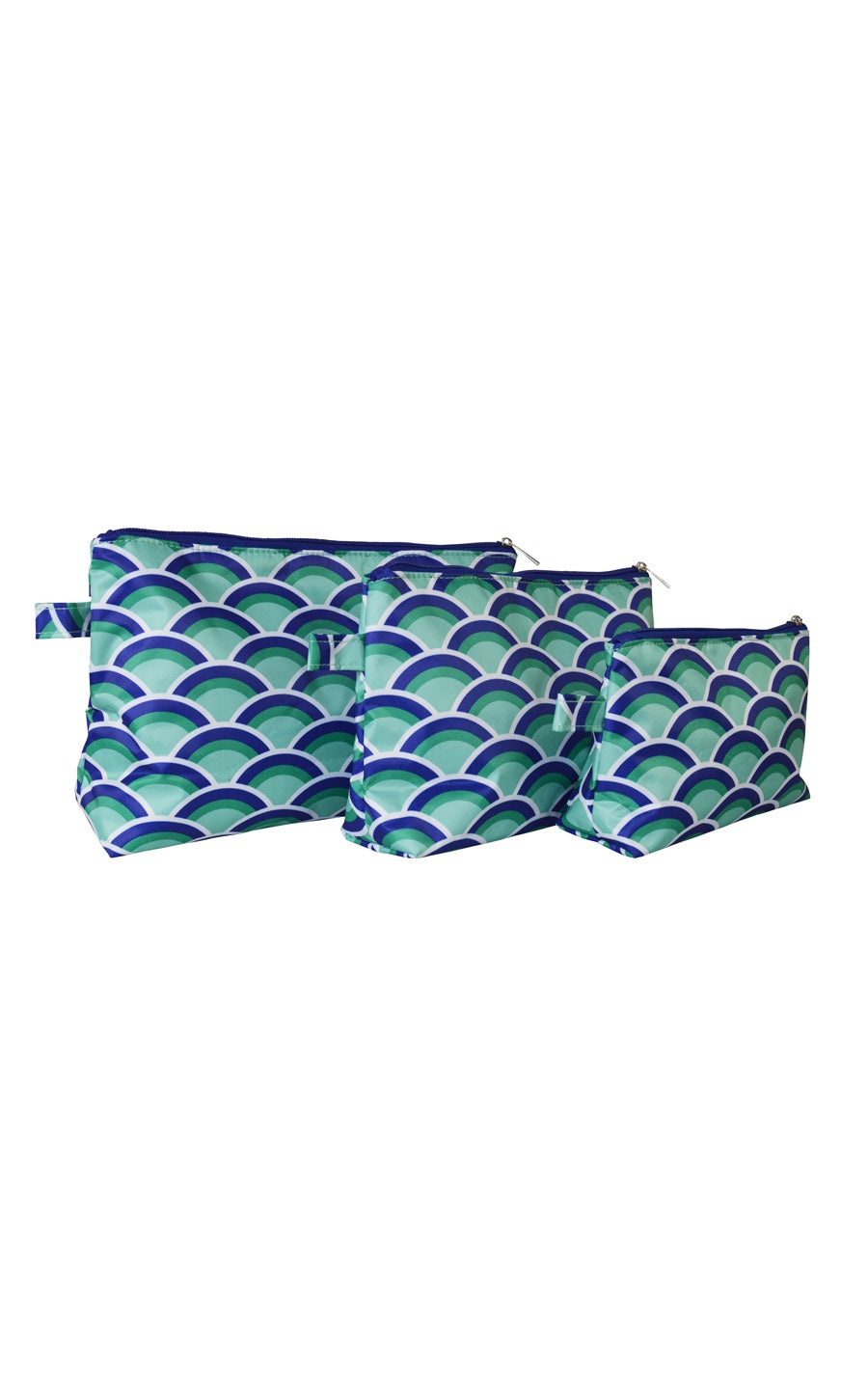 Mermazing 3 Piece Cosmetic Bag Set