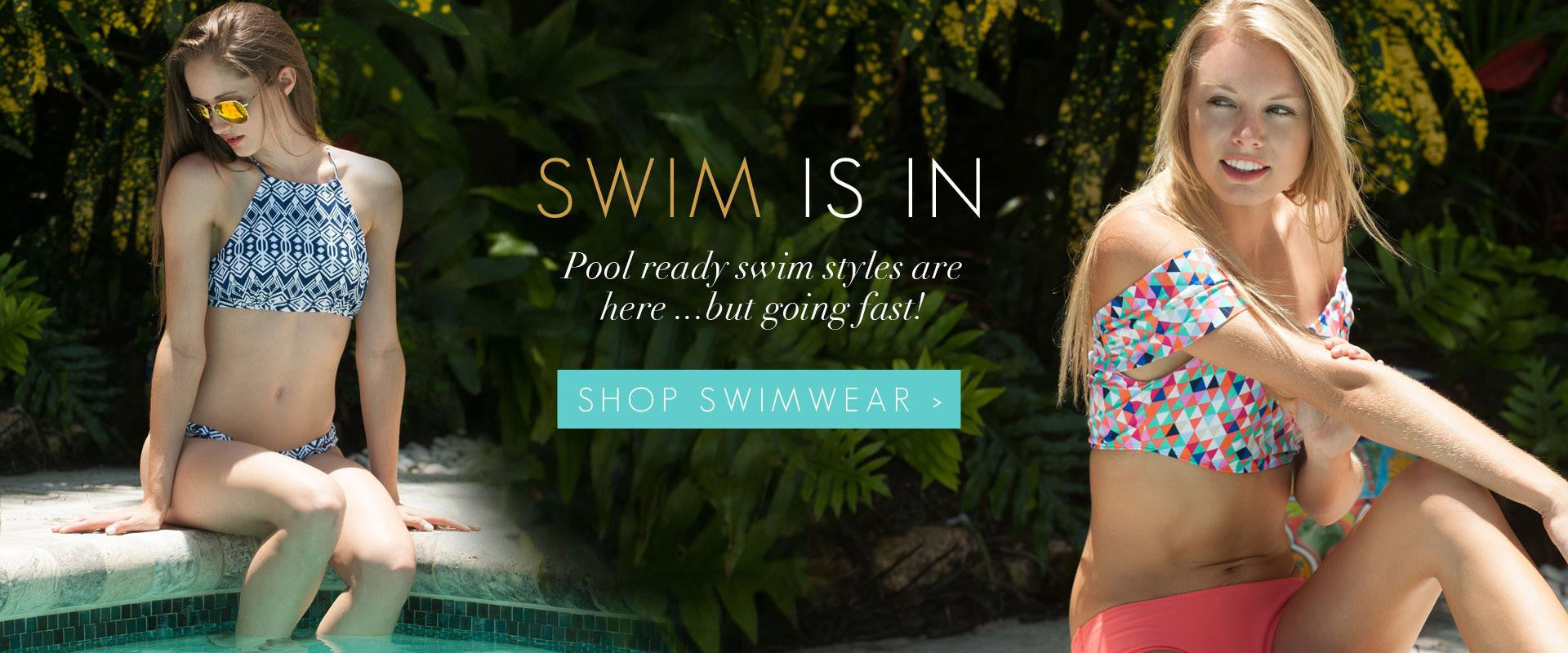 All For Color trendy and affordable Swimwear