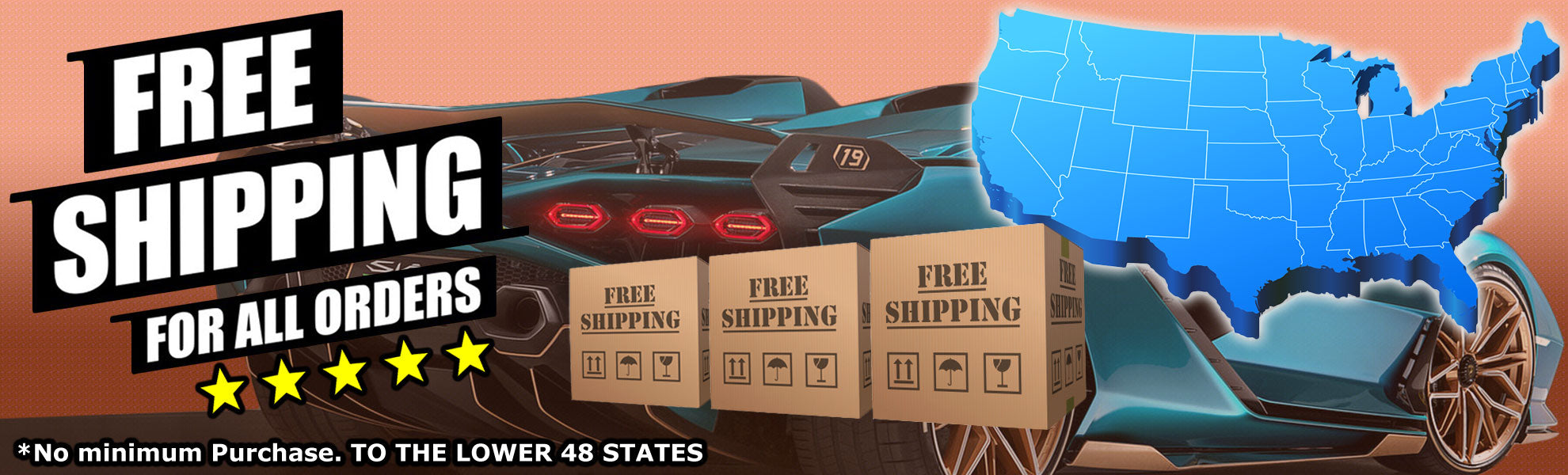Build Fast Car FREE SHIPPING for ALL ORDERS