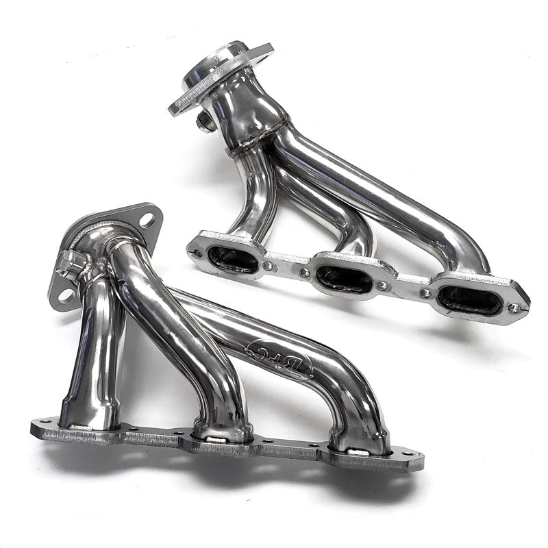 BFC Stainless Steel Exhaust Shorty Header Manifold Set For Dodge 06-10 Charger V6 3.5L SOHC-Exhaust Systems-BuildFastCar-BFC-11-1001