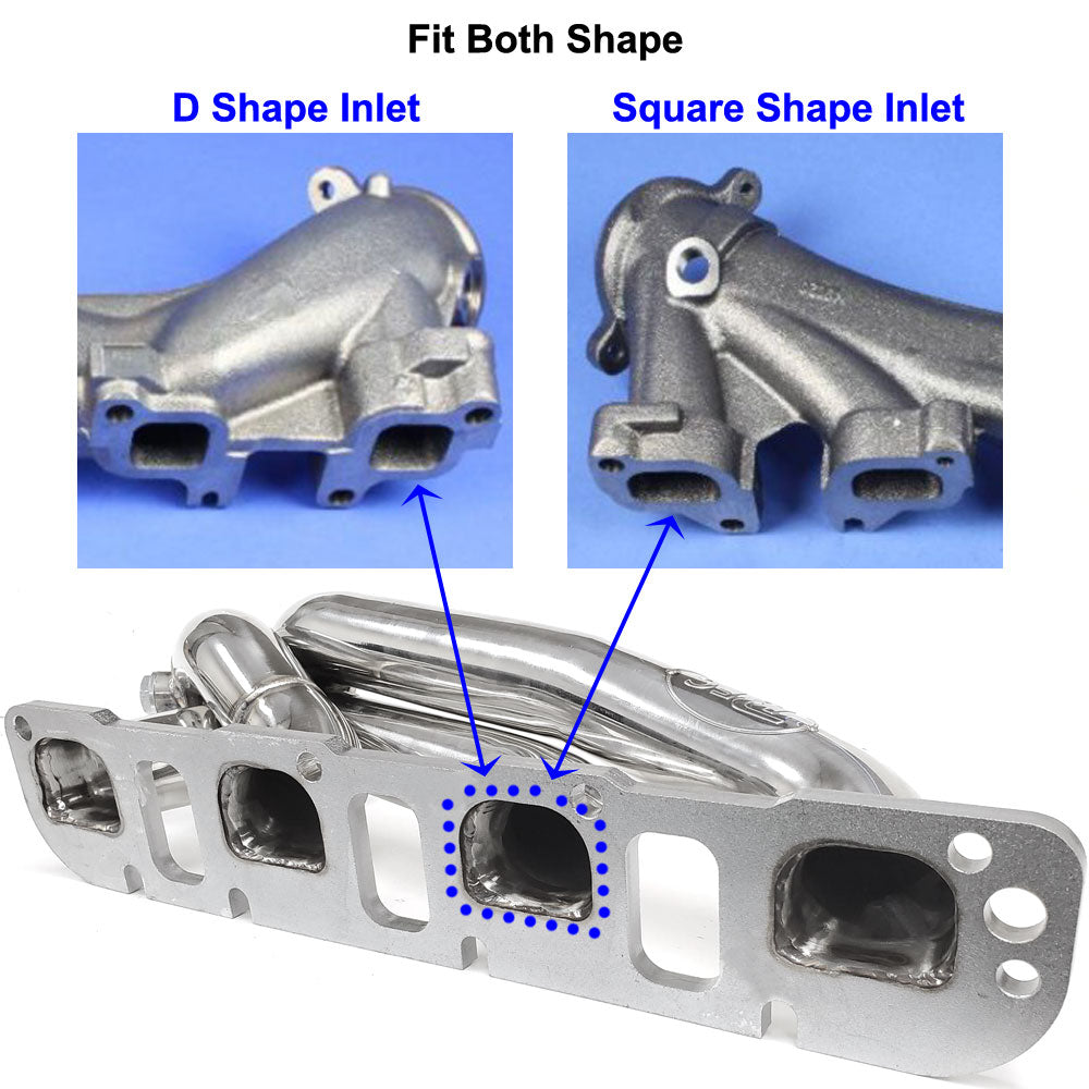 BFC Exhaust Shorty Header Manifold For 05-20 Charger/Chrysler 300C 5.7L HEMI