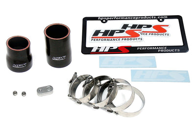 HPS Polish Intercooler Hot Charge Pipe Turbo Boost 16-17 Lexus IS200t 2.0L Turbo