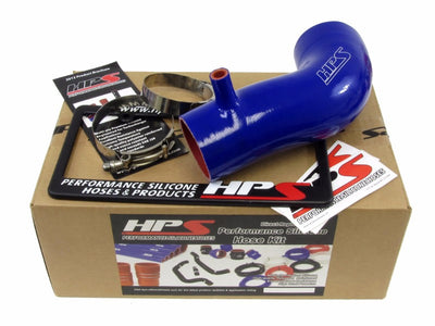 HPS Blue Silicone Post MAF Air Intake Tube Hose+Radiator Hose Kit For 12-14 Civic Si 2.4L-Performance-BuildFastCar
