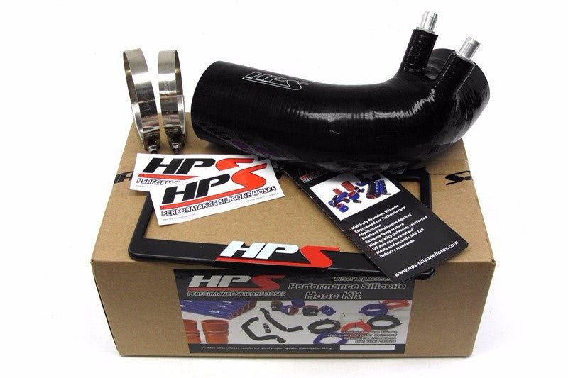 HPS Black 4-Ply Silicone Air Intake Hose Kit Post MAF Tube- For Lexus 08-13 ISF V8 5.0L-Performance-BuildFastCar