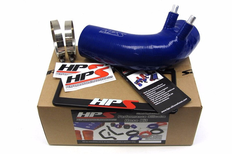 HPS Blue 4-Ply Silicone Air Intake Hose Kit Post MAF Tube- For Lexus 08-13 ISF V8 5.0L-Performance-BuildFastCar