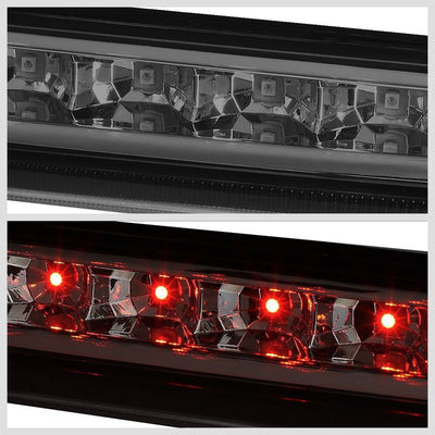 Chrome Housing Smoked Lens LED Rear 3RD Third Brake Light For 07-14 Tahoe-Exterior-BuildFastCar