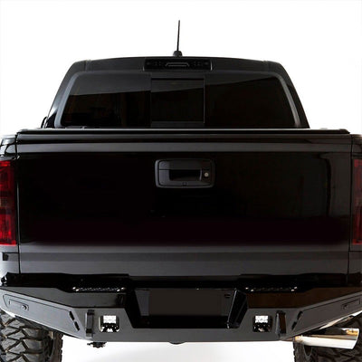 Black Housing Smoked Len 3D LED Rear Third Brake/Cargo Light For 15-18 Colorado-Exterior-BuildFastCar