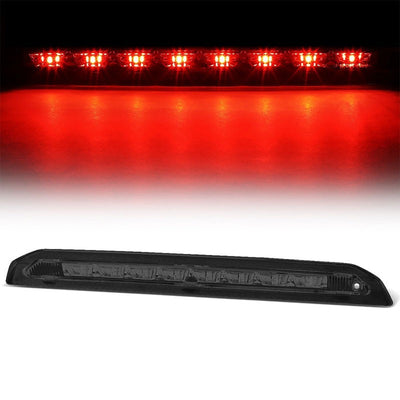 Chrome Housing Smoked Lens LED Rear 3RD Third Brake Light For 13-18 Escape-Exterior-BuildFastCar