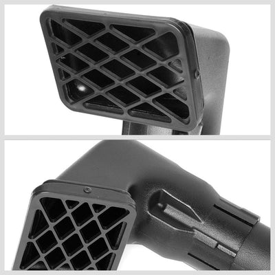 Offroad Safari Relocate Air Snorkel Intake Pipe For Jeep 99-06 Wrangler TJ-Air Intake Systems-BuildFastCar-BFC-ARSL-JEE99WRG-BK