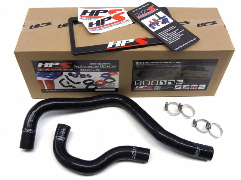 HPS Black 3-Ply Silicone Radiator Hose Kit for Acura 90-93 Integra LS RS GS GS-R-Performance-BuildFastCar