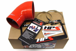 HPS Red Silicone Post MAF Air Intake Hose For 01-06 E46 M3 Coupe/Convertible-Performance-BuildFastCar