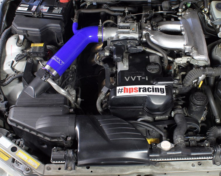 HPS Blue Silicone Post MAF Air Intake Hose For Lexus 01-05 IS300 IS 02 03 04-Performance-BuildFastCar