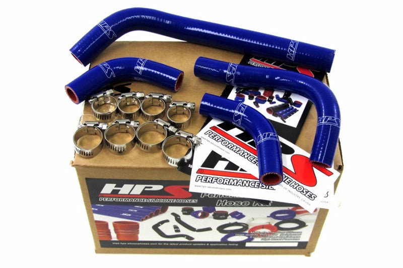 HPS Blue Silicone Bike Radiator Hose for Honda 04-09 CRF250X Coolant CRF 250X-Performance-BuildFastCar